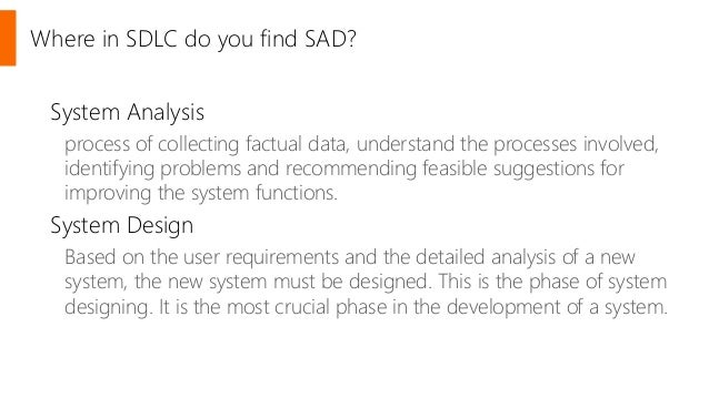 System Analysis and Design - SlideShare
