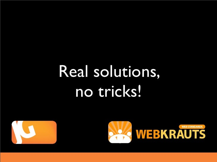 Real solutions,  no tricks!