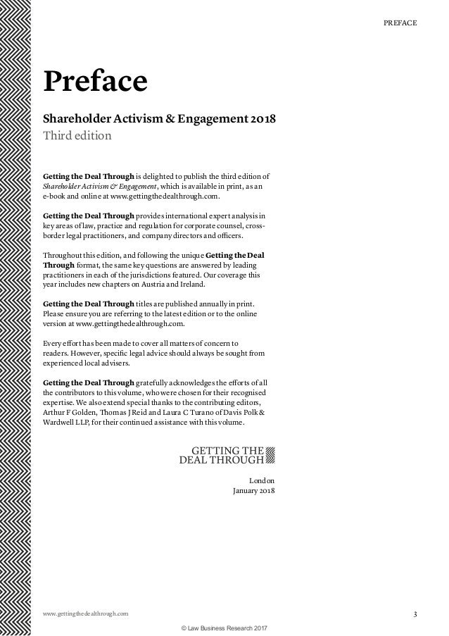 Getting the Deal Through: Shareholder Activism and
