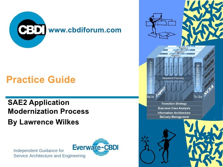 SAE2 Application Modernization Process By Lawrence Wilkes Practice Guide