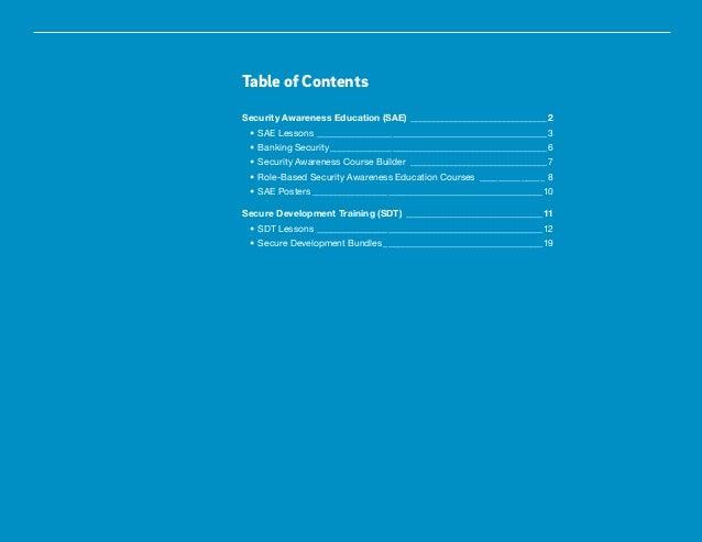 Trustwave Cybersecurity Education Catalog Slide 3