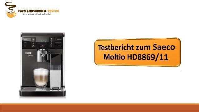 Testbericht zum Saeco Moltio HD8869/11