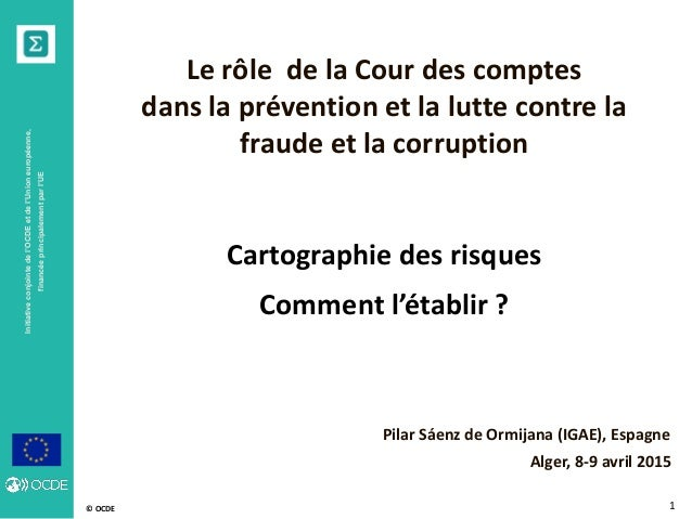 © OCDE Initiativeconjointedel'OCDEetdel'Unioneuropéenne, financéeprincipalementparl'UE 1 Le rôle de la Cour des comptes da...