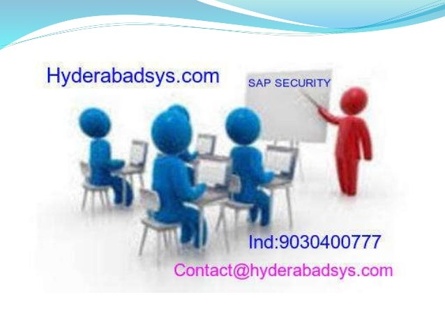 Best sap security Online Training  Sap Security With Real