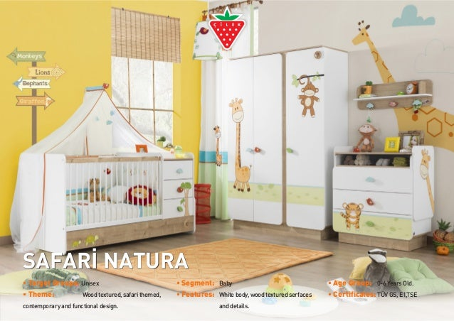 SAFARİ NATURA • Target Groups: 	Unisex • Theme:									Woodtextured,safarithemed, contemporaryandfunctionaldesign. • Segm...