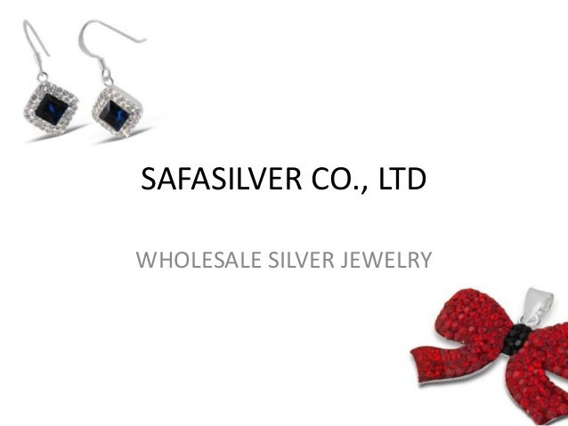 SAFASILVER CO., LTD WHOLESALE SILVER JEWELRY