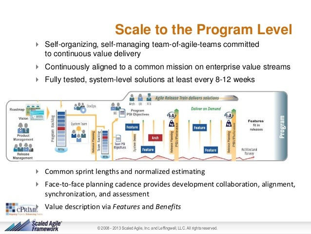 Scaled Agile Framework Overview