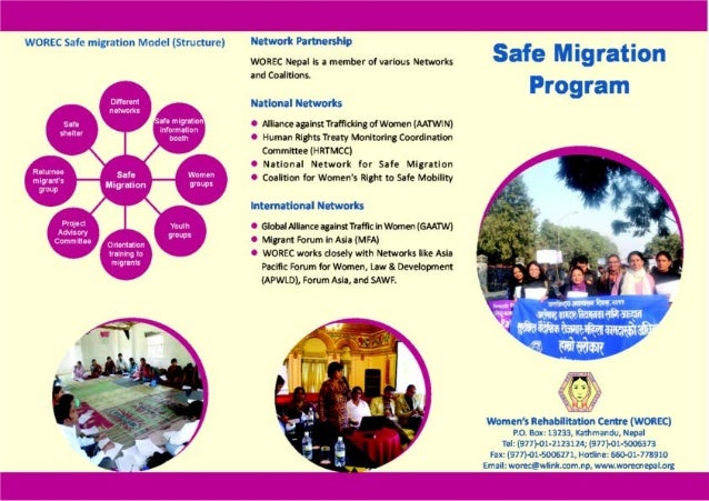 Safe Migration Programme of WOREC Nepal