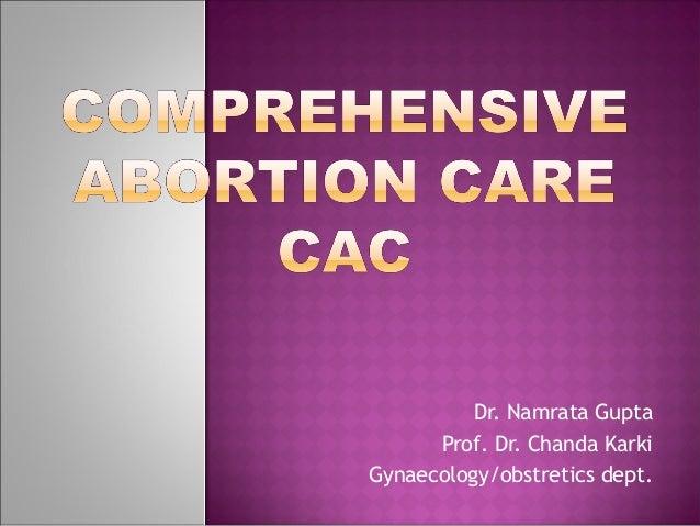 Dr. Namrata Gupta      Prof. Dr. Chanda KarkiGynaecology/obstretics dept.