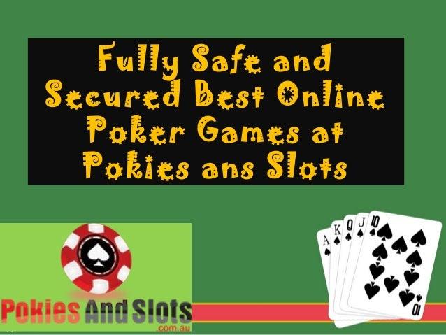 Safe Online Poker