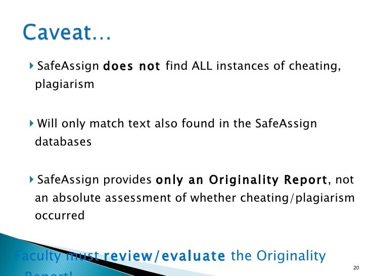 final draft safe assign Business model generation exercise 1 instructions in the first 3 chapters of the you must post the final draft of this assignment in blackboard using the safeassign link provided before submitting your final draft, please check for any plagiarism issues with the safeassign draft link.