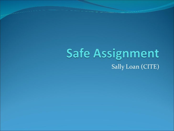 Sally Loan (CITE)