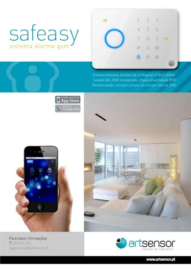 Safeasy - Alarme GSM Artsensor - Aveiro