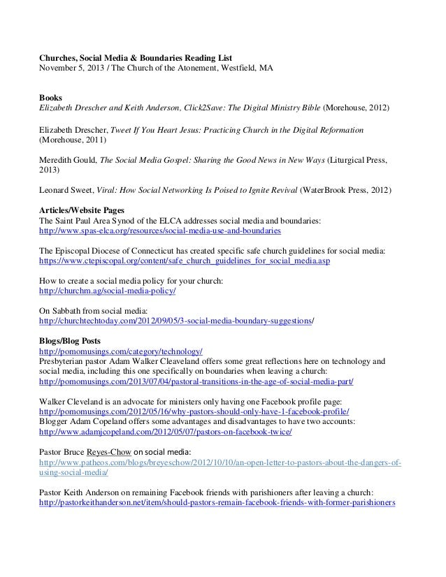 Safe church digital ministry strategy worksheet w resource guide 11 – Boundaries in Relationships Worksheet