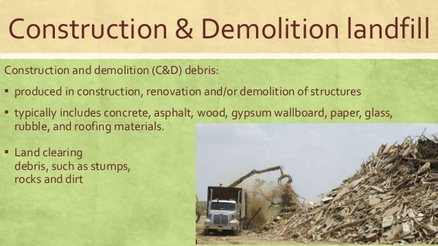 Safe Disposal Of Waste