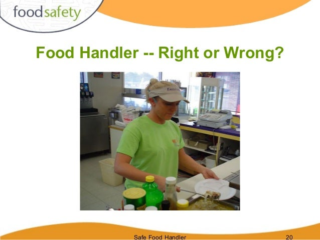 A Food Handler Serving A Highly Susceptible Population