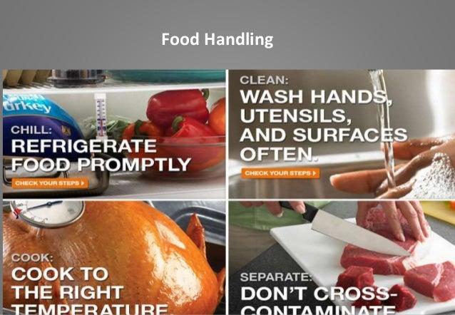 Food Safety 1 Safe Food Handling