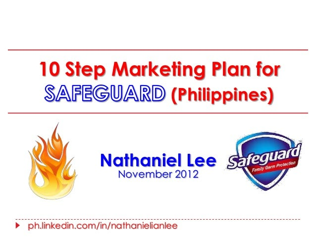 10 Step Marketing Plan for                                (Philippines)                Nathaniel Lee                    No...