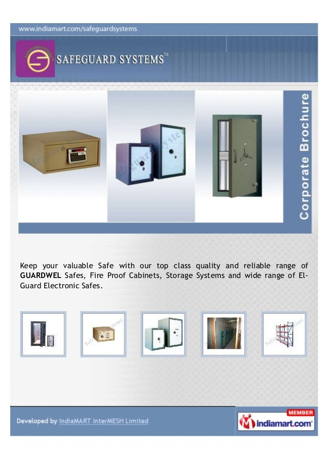 Keep your valuable Safe with our top class quality and reliable range of GUARDWEL Safes, Fire Proof Cabinets, Storage Syst...