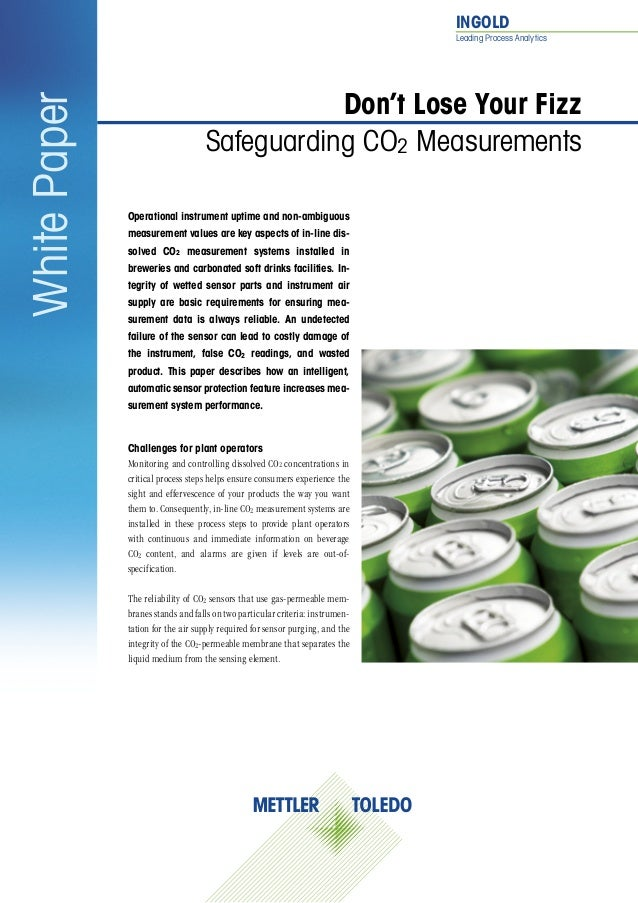 INGOLD Leading Process Analytics Operational instrument uptime and non-ambiguous measurement values are key aspects of in...