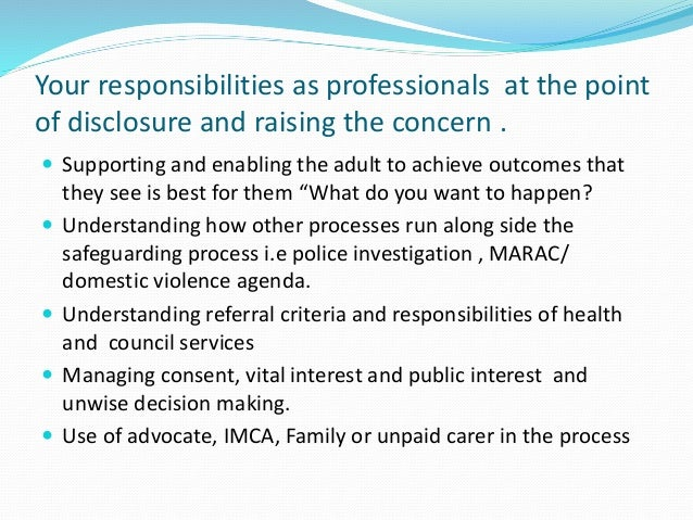 safeguarding adults enabling adults in vulnerable