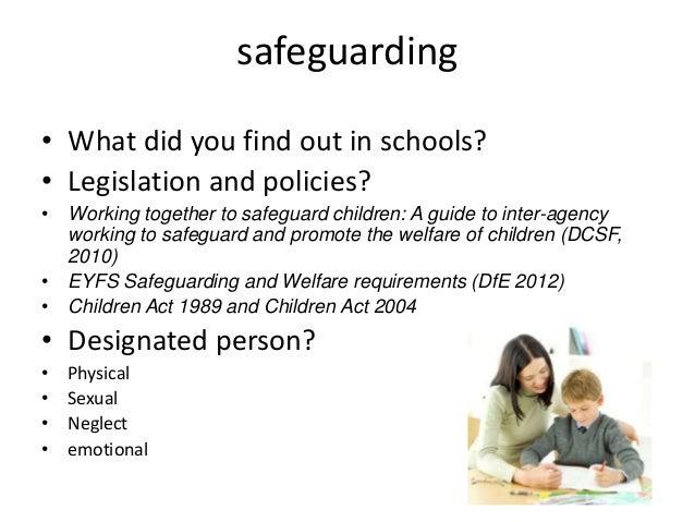 Safeguarding and Welfare