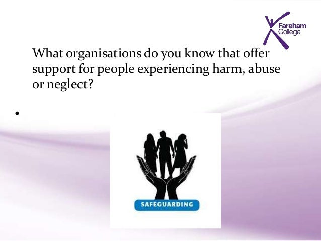 explain the actions to take if an individual alleges that they are being abused Opportunity to take a general qualification in health and social care, or they   explain the actions to take if an individual alleges that they are being abused.