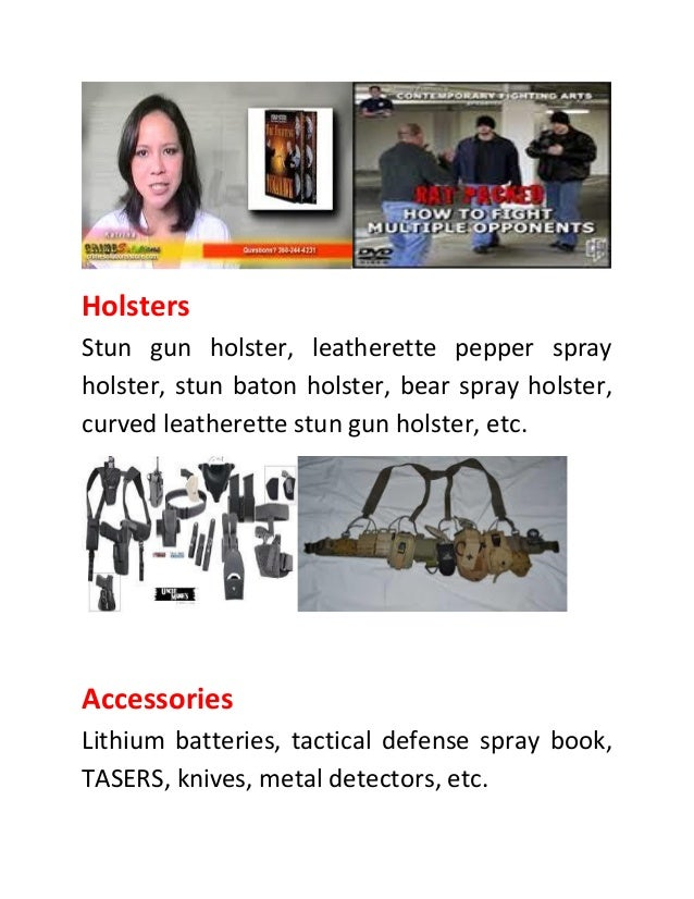 Safeguard Yourself Resourcefully With Self Defense Products