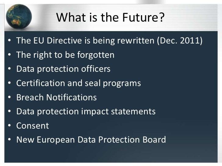 Safe Harbor: A framework for US – EU data privacy