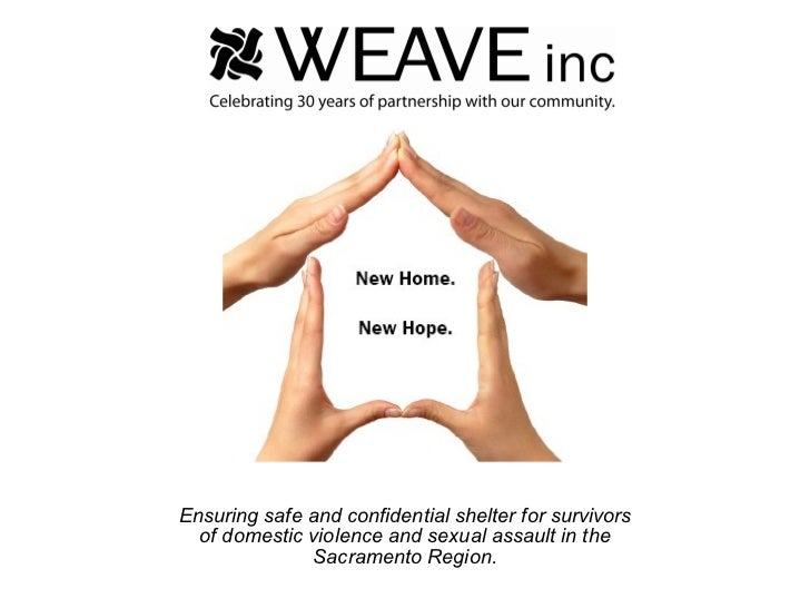 Ensuring safe and confidential shelter for survivors of domestic violence and sexual assault in the Sacramento Region.