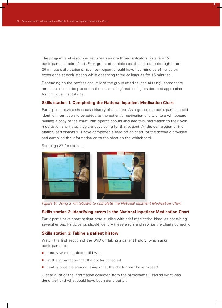 national inpatient medication chart pdf