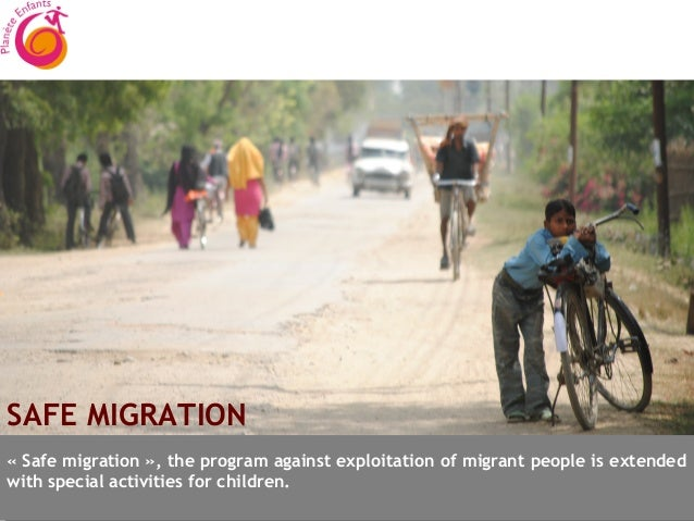 SAFE MIGRATION«Safe migration», the program against exploitation of migrant people is extendedwith special activities fo...