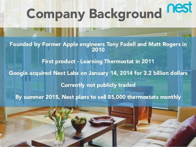 Nest Business Model Presentation Slide 2