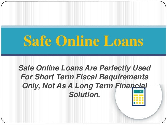 Safe Payday Loans - To Borrow Loan Amount With Easy And Safe Online …