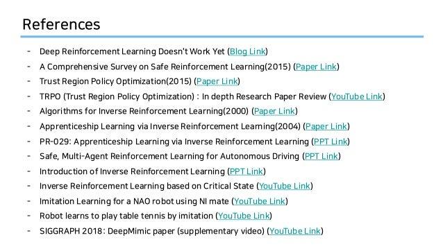 Safe Reinforcement Learning