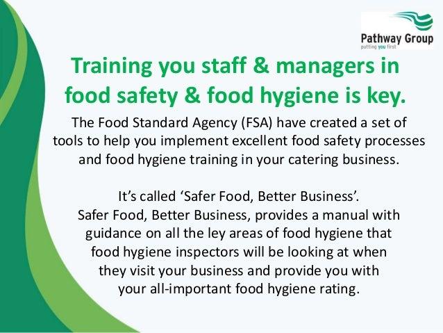 Food Hygiene Safer Food Better Business