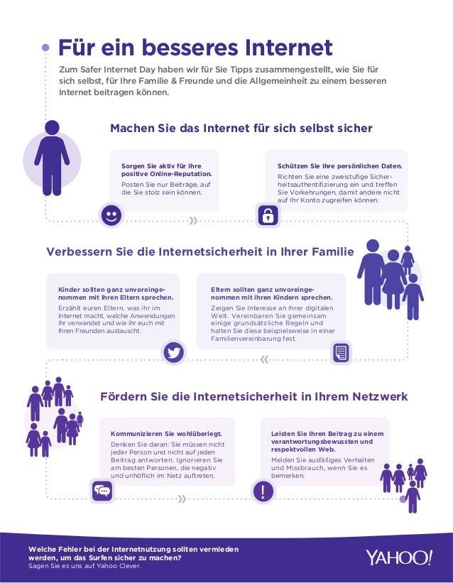 Für ein besseres Internet Zum Safer Internet Day haben wir für Sie Tipps zusammengestellt, wie Sie für sich selbst, für Ih...