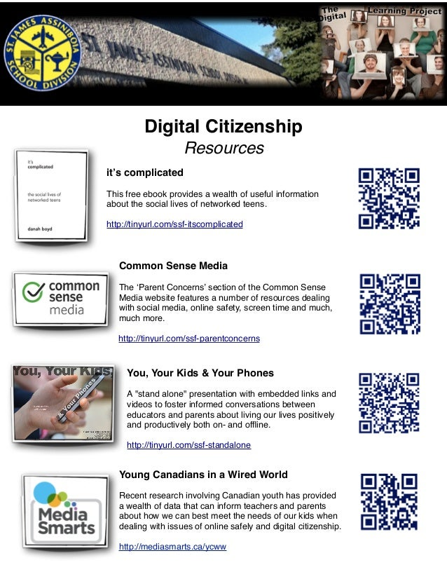 Digital Citizenship Resources it's complicated This free ebook provides a wealth of useful information about the social li...