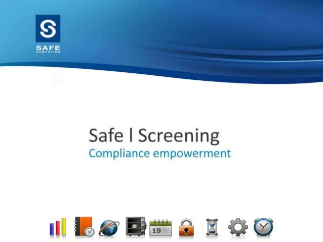 Safe Computing Ltd  Designed and provided HR software for the past 30 years  Safe Tempest – end to end recruitment solut...