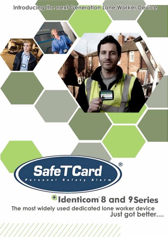 Contact Details: SafeTCard National 07 3821 4681 gavin@mandownduressalarms.com.au 1··�-Quahty AUSTRALIAN SECURITY INDUSTRY...