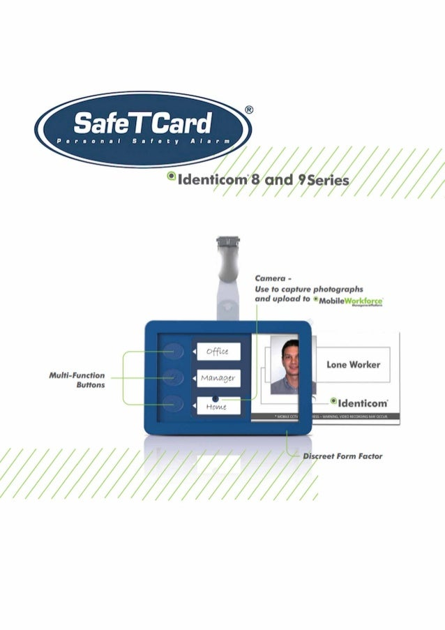 The Lone Worker Safety Solution - SafeTCard