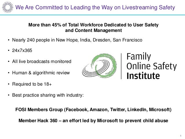 1 We Are Committed to Leading the Way on Livestreaming Safety More than 45% of Total Workforce Dedicated to User Safety an...