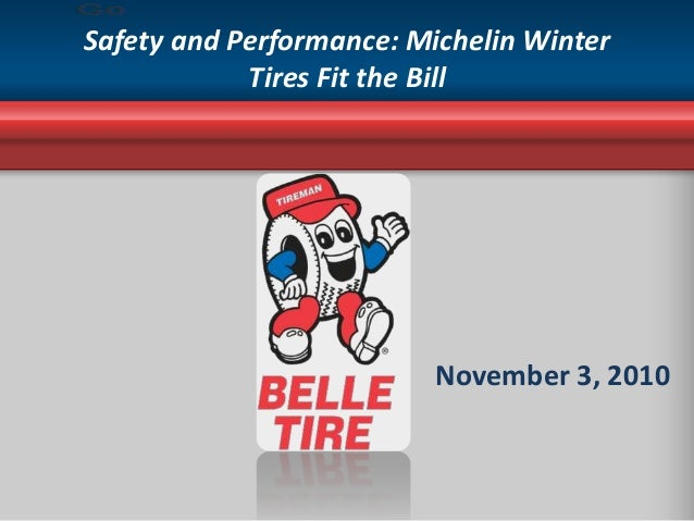 Safety and Performance: Michelin Winter Tires Fit the Bill November 3, 2010