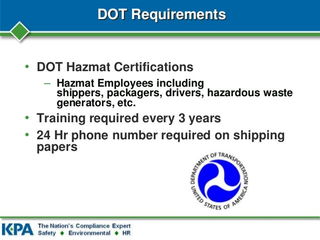 hazardous materials business plan training programs