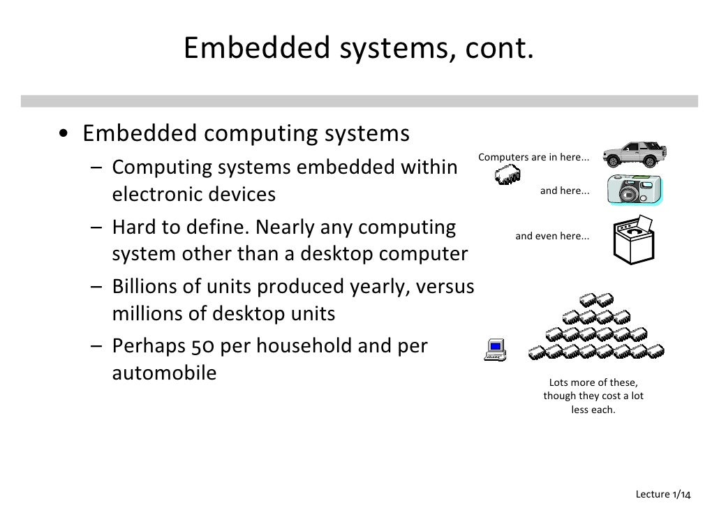 definition of embedded system 1 02-embedded-intro 1 embedded systems introduction 02-embedded-intro 2 what is an embedded system definition of an embedded computer system: is a digital system uses a microprocessor.