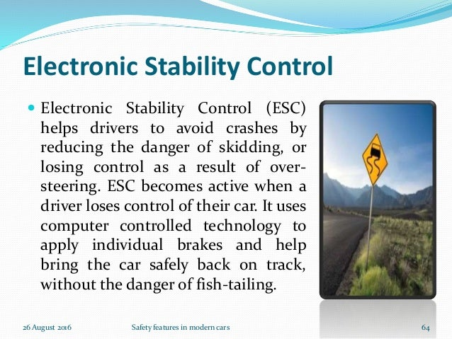 Safety features in our cars
