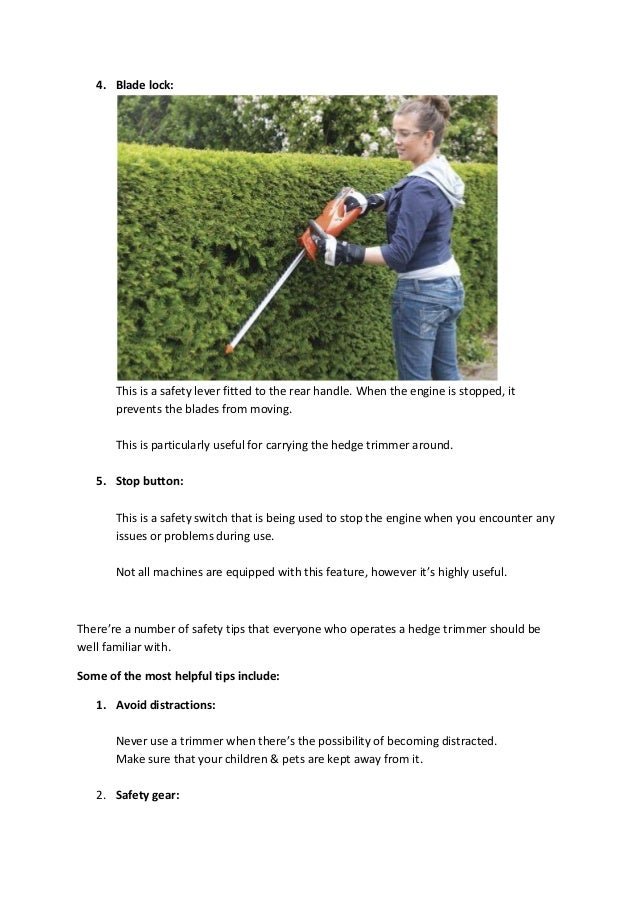 Leading Supplier of Hedge Trimmers in Wellington – STIHL