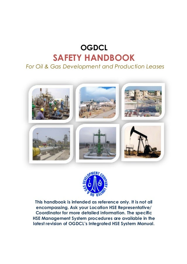 Ogdcl safety handbook for oil & gas development & production leases (….
