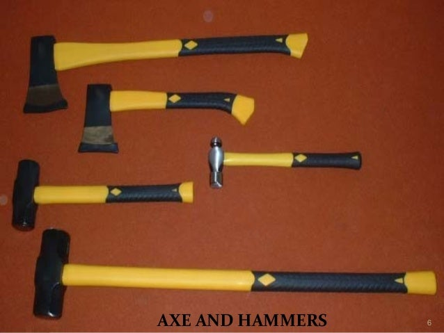 AXE AND HAMMERS 6