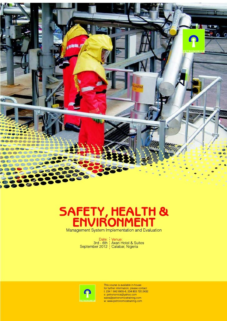 health and safety in play environment Intel is committed to caring for our people and the planet by integrating design for the environment and safety  can play a key role in  environmental, health.